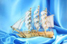 Free Model Sailing Yacht Stock Image - 13652471