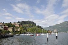 Free Pescallo Fishing Harbour On Lake Como Royalty Free Stock Photo - 13653825