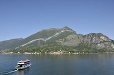 Car Ferry At Bellagio On Lake Como Stock Photos