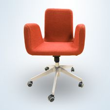 Free Modern Office Chair Stock Photography - 13654202