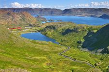 Picturesque Norway Landscape Royalty Free Stock Images