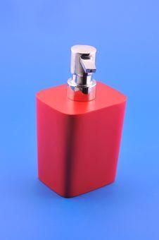 Dispenser For Liquid Soap Royalty Free Stock Image