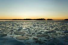 Free Seashore In Winter Stock Photo - 13655490