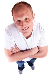 Free Young Confident Man Royalty Free Stock Photography - 13655727