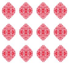 Free Abstract Background, Red Glossy Seamless Wallpaper Royalty Free Stock Photos - 13656158