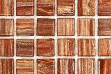 Free Brown Mosaic Tiles Stock Photos - 13656593