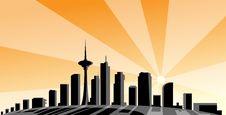 Free City Panorama Stock Image - 13656751
