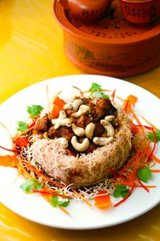 Tasty Yam Dish Royalty Free Stock Images