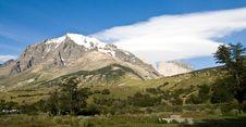 Free Patagonian Mountians Stock Image - 13658001