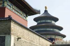 Free The Temple Of Heaven In Beijing. Royalty Free Stock Photo - 13658175