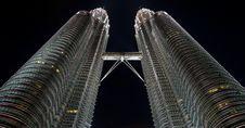 Free Twin Skyscrapers Stock Image - 13658191