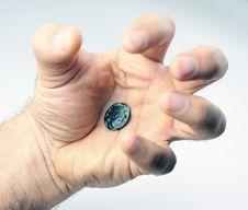 Old Roman Coin Royalty Free Stock Photos
