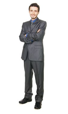 Young Handsome Businessman Stock Photos