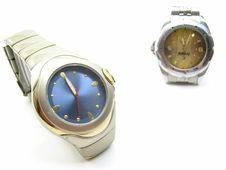Wristwatches Stock Image