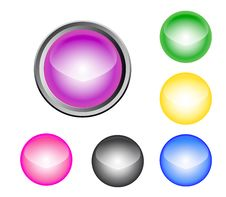 Free Buttons Stock Images - 13659634