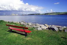 Free Red Bench Stock Image - 13659941