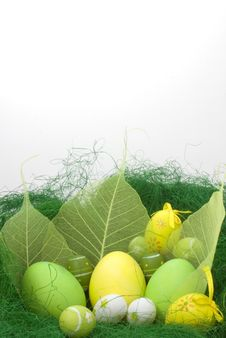 Free Easter Eggs Royalty Free Stock Photography - 13660207