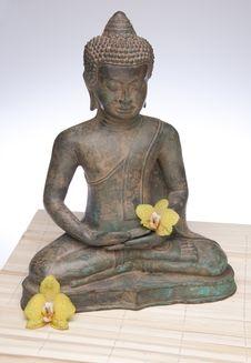Meditating Buddha Royalty Free Stock Photo