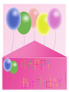Free Birthdays Postcard Stock Images - 13661054