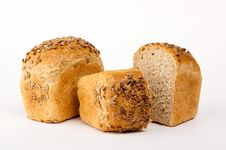 Free Isolated Bread Royalty Free Stock Photography - 13661087
