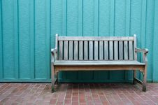 Wood Bench Stock Photos
