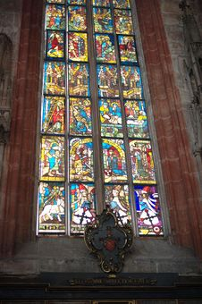 Free Church Window Royalty Free Stock Photo - 13661185