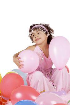 Free Celebrating Her Birthday Stock Images - 13661574