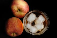 Free Apple Juice Royalty Free Stock Photos - 13661658