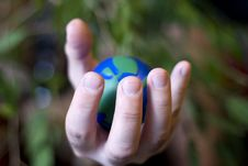 Free Planet Hand Stock Photos - 13661663