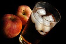 Free Apple Juice Royalty Free Stock Photo - 13661665