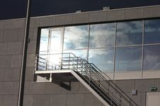 Free Sun Reflection In Windows Stock Photo - 13661930