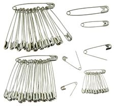 Free Safety Pins Stock Photo - 13662340