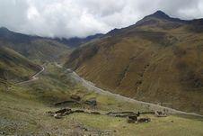 Free Road To Machu Pichu Royalty Free Stock Image - 13662386