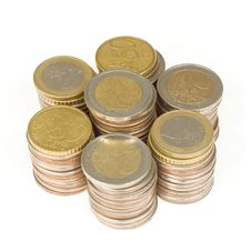 Free Pile Of Euro Coins Stock Images - 13663954