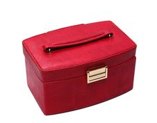 Free Red Casket With Handle. Royalty Free Stock Photography - 13663997