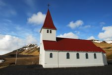 Free Icelandic Church Stock Photography - 13664182