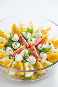 Free Tomato Salad Royalty Free Stock Photography - 13664747