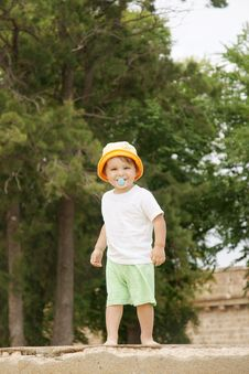 Free Happy Little Boy Royalty Free Stock Image - 13665106