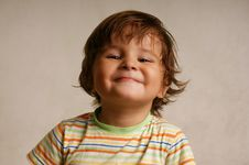 Free Little Smiling Boy Royalty Free Stock Photography - 13665137