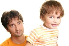 Free Father And Son Stock Image - 13665141