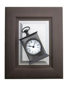 Free Alarm Clock In A Frame Stock Photos - 13666253