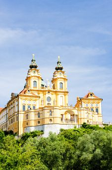 Monastery In Austria Stock Photo