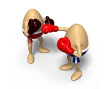 Free Eggs Boxing Stock Images - 13667304