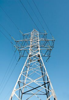 Free Power Line Royalty Free Stock Image - 13667726