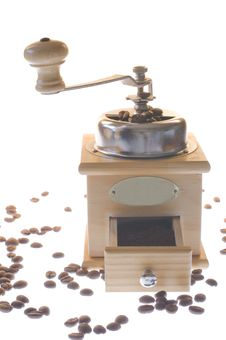 Free Coffee Mill Stock Photography - 13667992