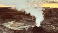 Free Volcano Eruption Stock Photography - 13668142
