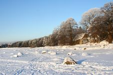 Free Winter Landscape On Baltic Sea Stock Photography - 13668212