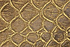 Free Brown Tanned Crocodile Leather Stock Photo - 13668270