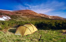 Free Tent Royalty Free Stock Photos - 13668278