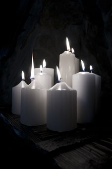 Free Candle Royalty Free Stock Photography - 13668377